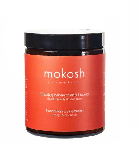 Mokosh Balsam brązujący do ciała pomarańcza z cynamonem 180ml