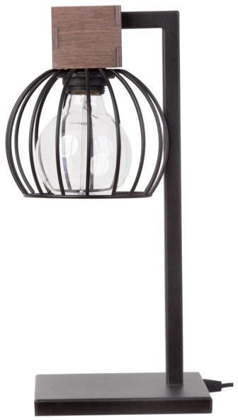 Lampa biurkowa stołowa nocna MILAN LAMPKA brązowy 50120