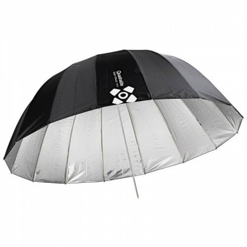Quadralite Deep Space 165 silver parabolic umbrella