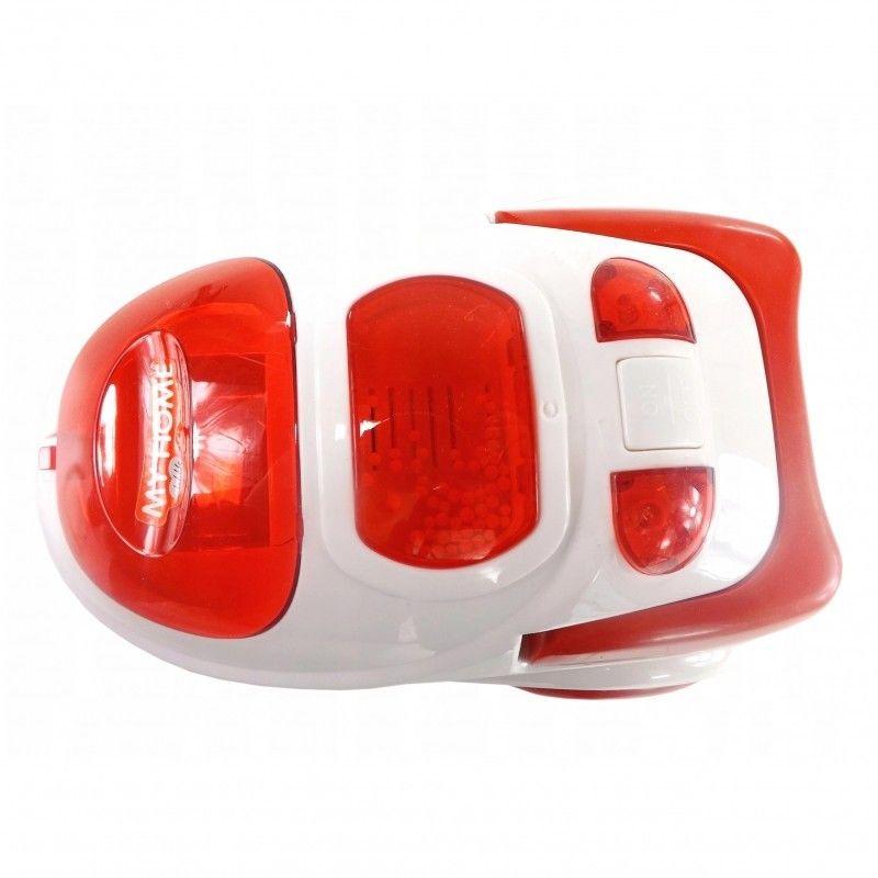 WOOPIE Interaktywny Odkurzacz dla Dzieci Funkcja Ssania Światło Dźwięk Czerwony
