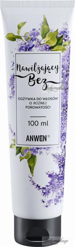 ANWEN - Nawilżający Bez - Odżywka do włosów o różnej porowatości - 100 ml