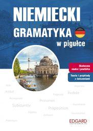 Niemiecki Gramatyka w pigułce ZAKŁADKA DO KSIĄŻEK GRATIS DO KAŻDEGO ZAMÓWIENIA