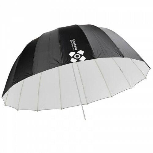 Quadralite Deep Space 165 white parabolic umbrella