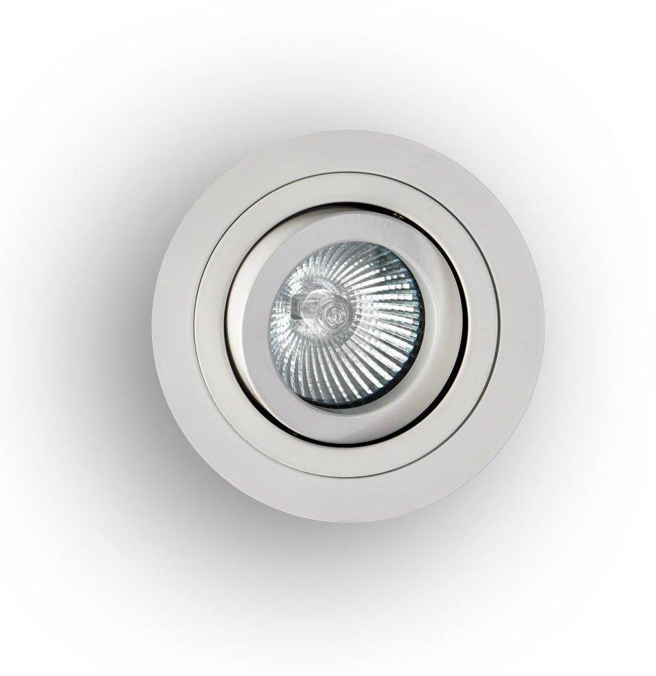 Oprawa halogenowa Pio Bianco Orlicki Design okrągła oprawa w kolorze białym