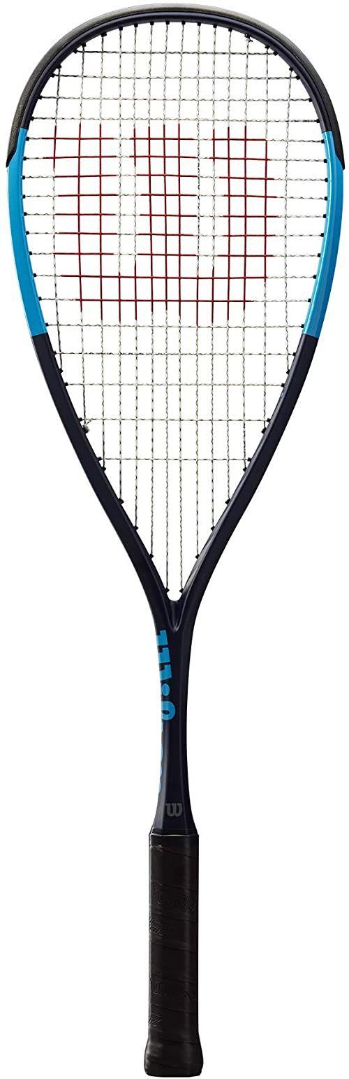 Wilson Rakieta do squasha Ultra CV, unisex, równowaga obciążeniowa, niebieska, WRT910230