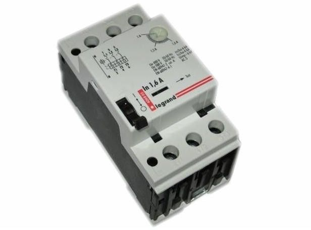 Wyłącznik silnikowy 3P 0,55kW 1-1,6A M 250 1R/1Z 1,6 606825