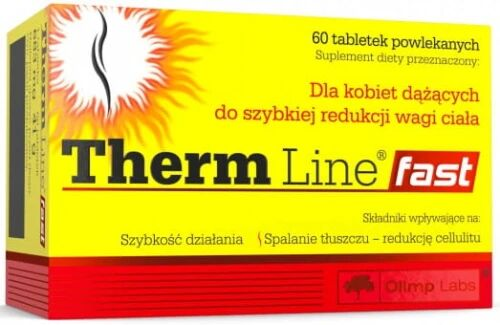 Therm Line  Fast Suplement Diety 60 Tabletek - Olimp Labs