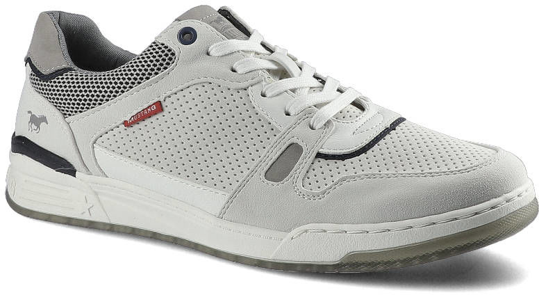 Sneakersy MUSTANG 4166-301-203 Białe 48A092