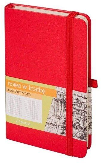 Notes A6 Kratka Romantyzm Czerwony ANTRA