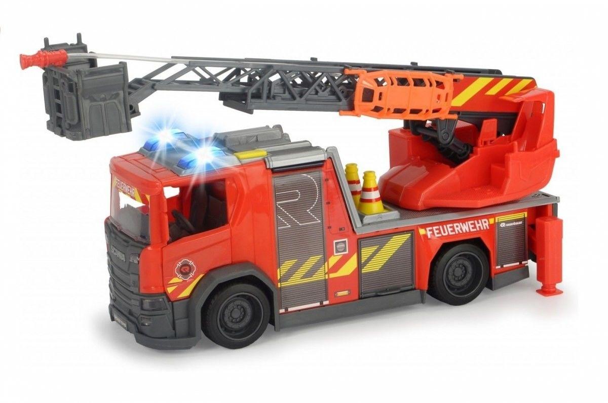 Dickie Scania Straż Pożarna światło i dźwięk 3716017