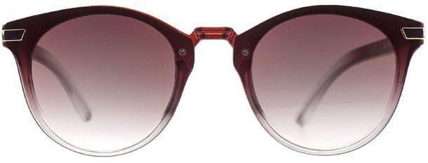 Okulary Przeciwsłoneczne, Brązowe, Kocie Oko, Męskie, Uniwersalne -EM Mens Accessories OKLREMACS55027