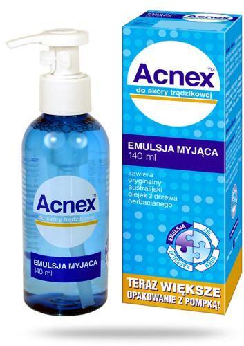 Acnex Emulsja Myjąca 140 ml