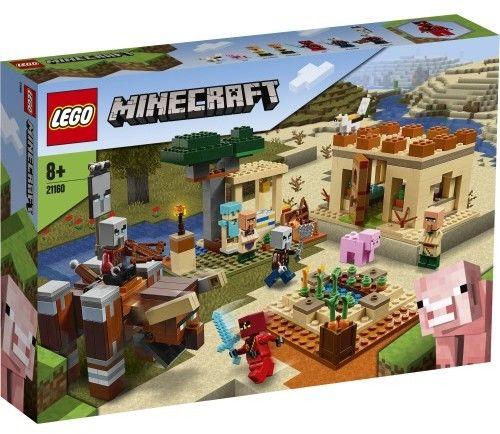 LEGO - MINECRAFT - NAJAZD ZŁOSADNIKÓW - 21160