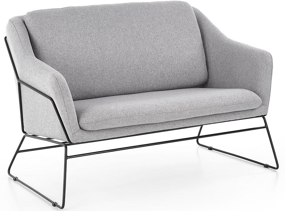 Sofa dwuosobowa Foster 4X - popielata