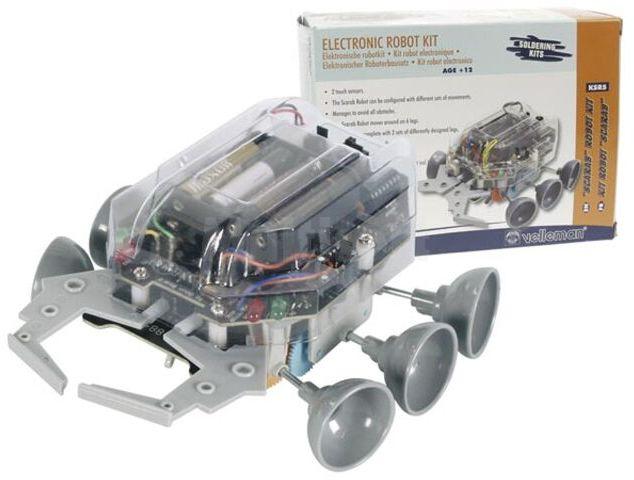 Robot Scrab - zestaw do samodzielnego montażu