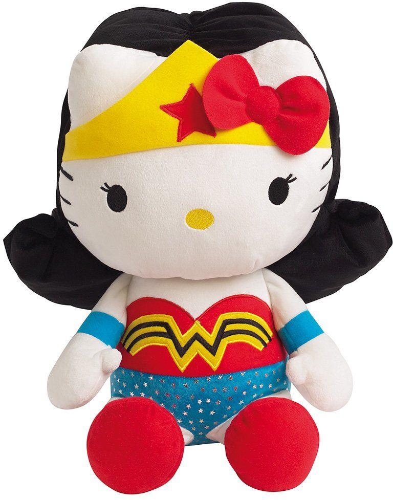 Jemini  Hello Kitty pluszowy 022869 Wonder Woman DC Comics Super Heroes  40 cm