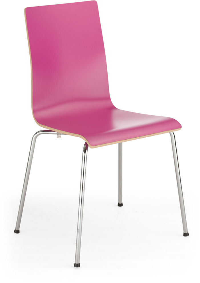 NOWY STYL Krzesło CAFE VII alu/black