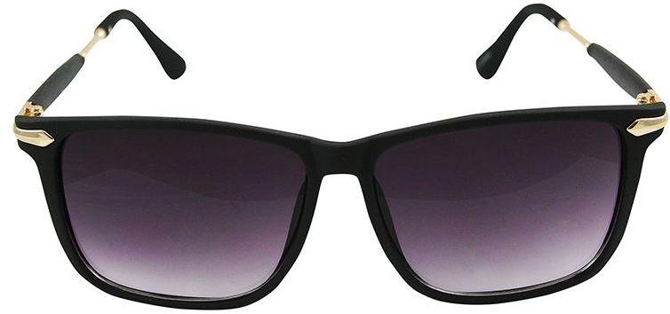 Okulary Przeciwsłoneczne, Czarne, Kwadratowe, Męskie, Uniwersalne -EM Mens Accessories OKLREMACS55024
