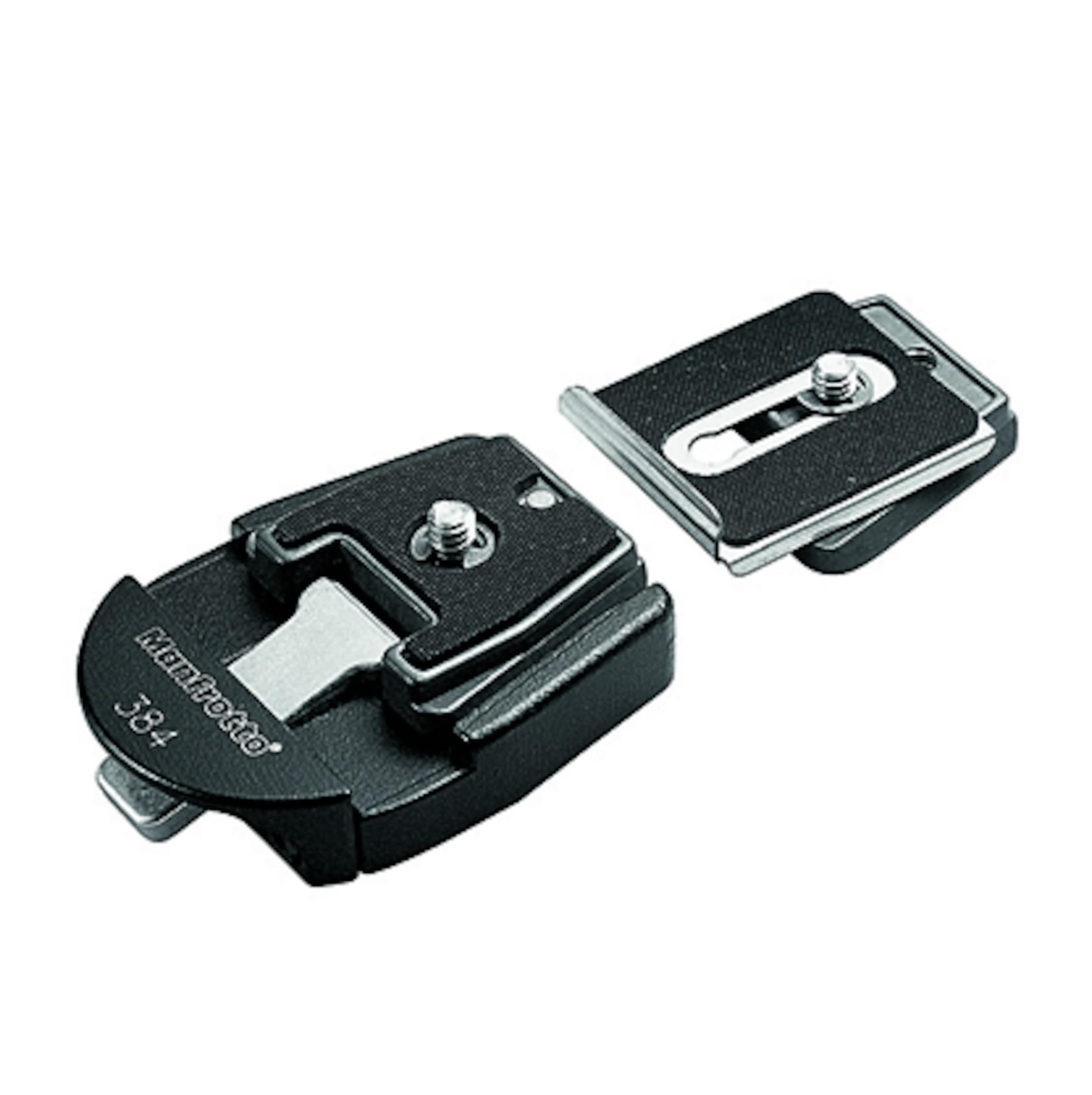 Manfrotto 384 - adapter do płytek trapezowych Manfrotto 384 - adapter do płytek trapezowych