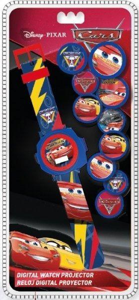 Zegarek z projektorem cars