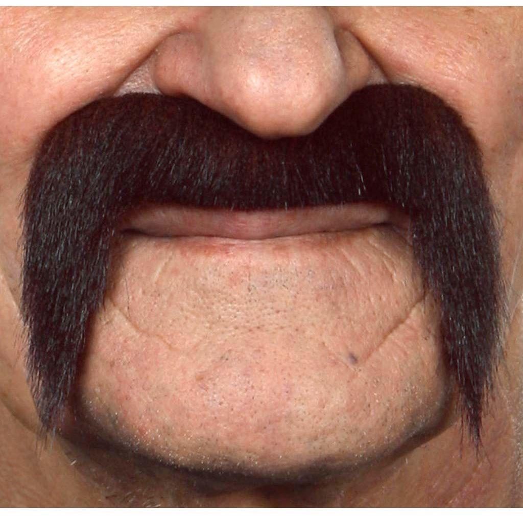 Żywe kostiumy 202843 wąsy, wielokolorowe, jeden rozmiar