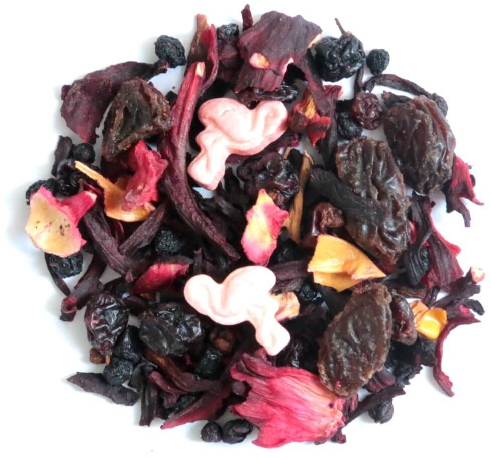 Herbata owocowa smakowa berry flamingo 230g