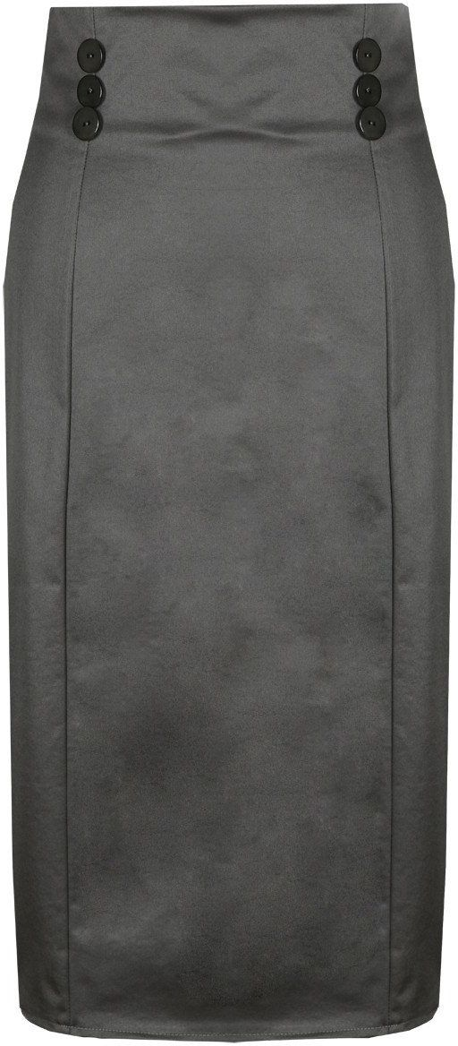 Spódnica FSP636 SZARY