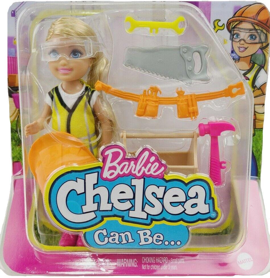Barbie Chelsea kariera Majsterkowiczka GTN86