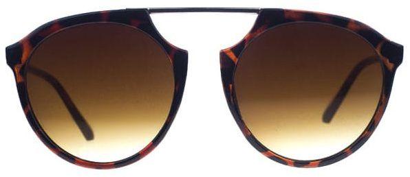 Okulary Przeciwsłoneczne, Brązowe, Pantera, Męskie, Uniwersalne -EM Mens Accessories OKLREMACS550213