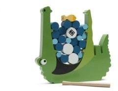 """BS Toys, Gra zręcznościowa Głodny krokodyl """"Croco"""" (MOK-GA348)"""