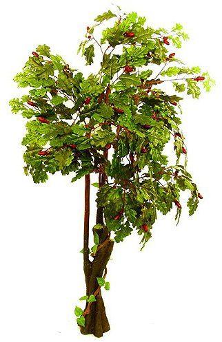 Sztuczne drzewko dębowe - 180 cm