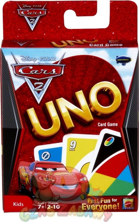 UNO KARTY CARS 2 MATTEL (T8230)