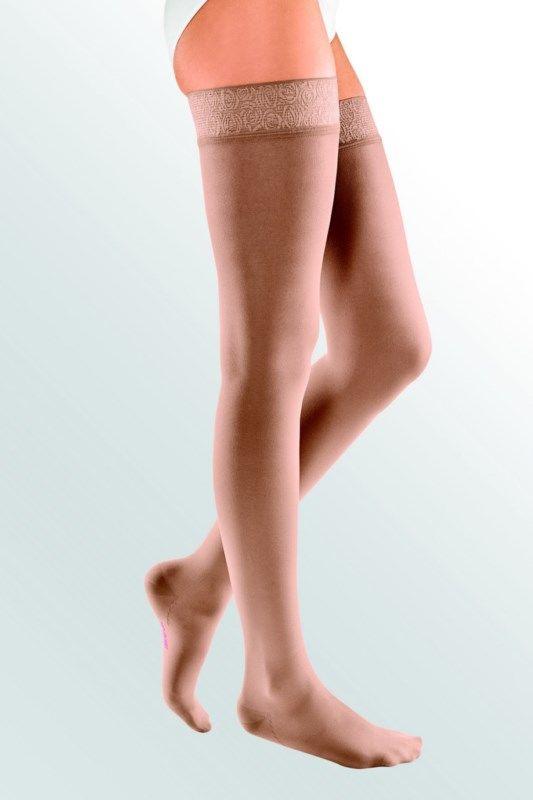 Pończochy Elegance ucisk 1 stopnia : długość - normalne, kolor - beżowy
