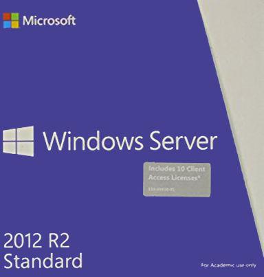 Microsoft Windows Server 2012 R2 Standard BOX Academic + 5 Client