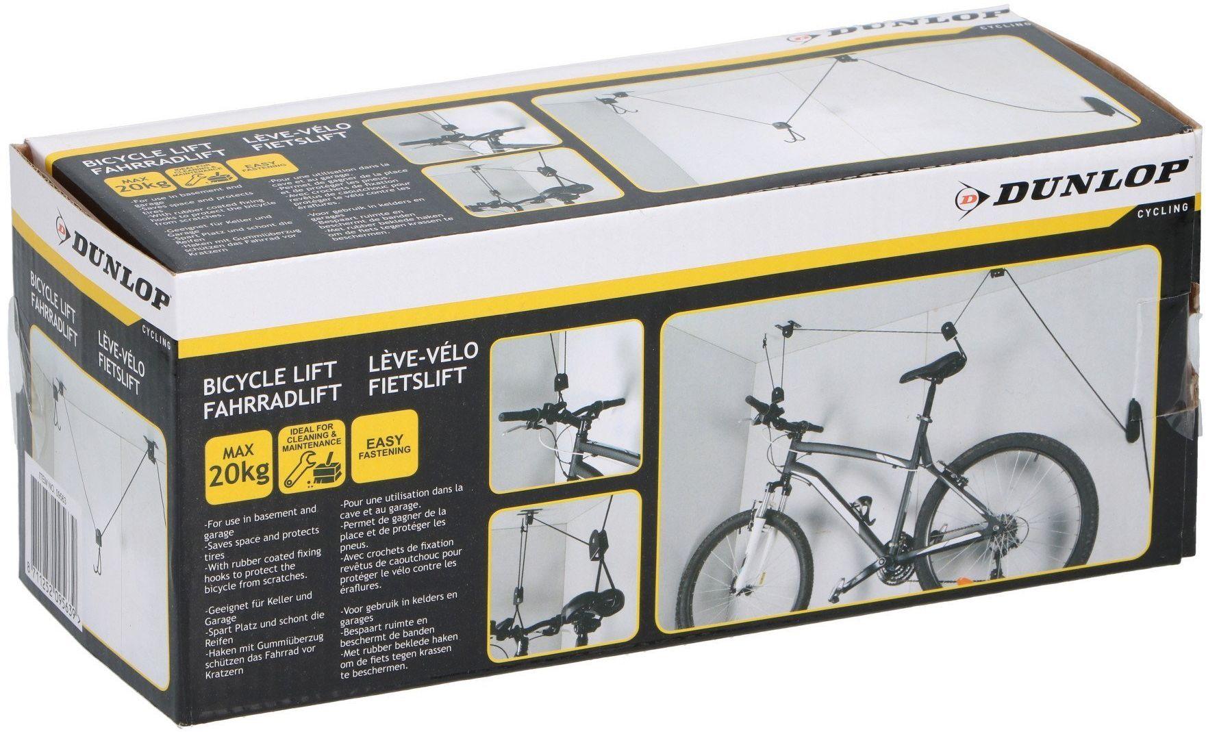 Uchwyt wieszak sufitowy na rower Dunlop