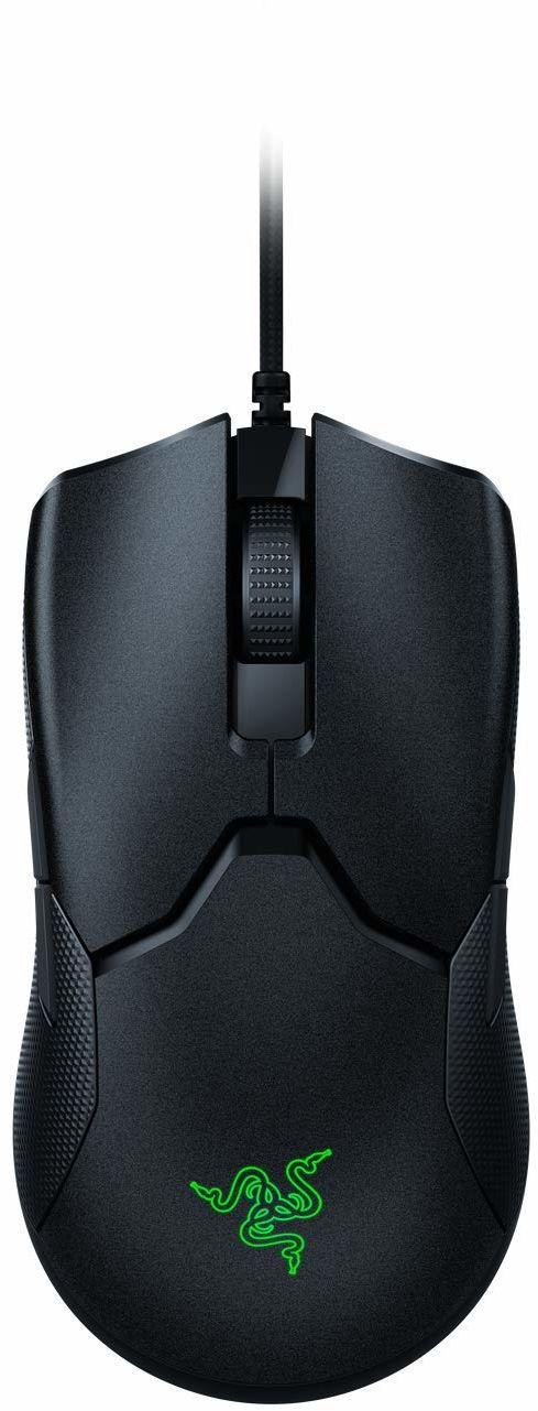 Razer Viper 8K Hz - Oburęczna mysz do gier E-Sport z technologią HyperPolling 8000 Hz (ogniskowanie optyczne + czujnik z 20K DPI, przełączniki myszy optycznej, światło 71g) - Czarny