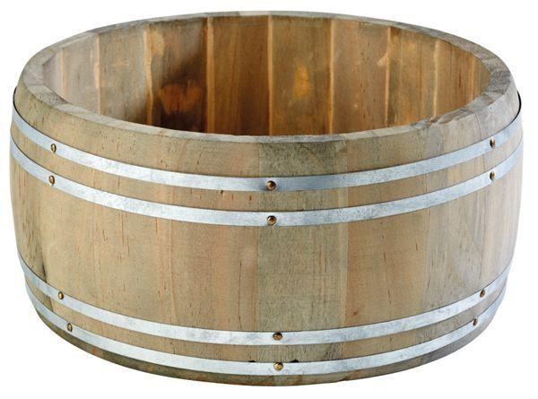 Stojak-beczka na sztućce/przyprawy śr. 175x(H)85mmmm