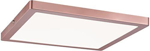 Paulmann 709.41 lampa sufitowa Atria panel LED 300 x 300 mm 20 W 4000 K różowe złoto matowe 230 V tworzywo sztuczne