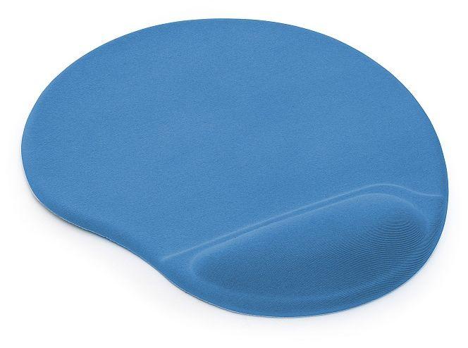 Podkładka pod mysz i nadgarstek TEA - kolor niebieski
