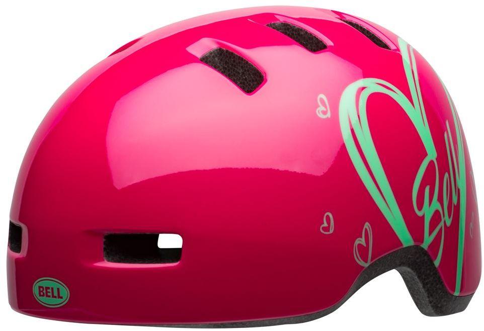 BELL LIL RIPPER Kask rowerowy dziecięcy pink adore Rozmiar: 45-52,ripperpinkadore