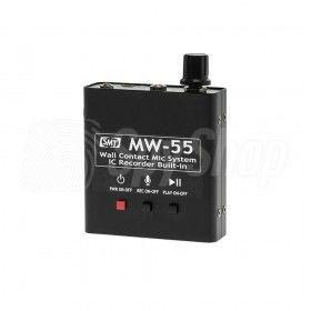 Podsłuch stetoskopowy przez ściany z wbudowaną pamięcią - MW-55