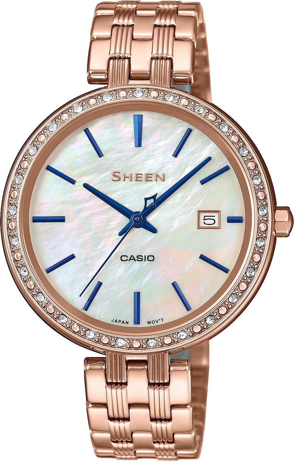 Casio SHEEN SHE-4052PG-2AUEF > Wysyłka tego samego dnia Grawer 0zł Darmowa dostawa Kurierem/Inpost Darmowy zwrot przez 100 DNI