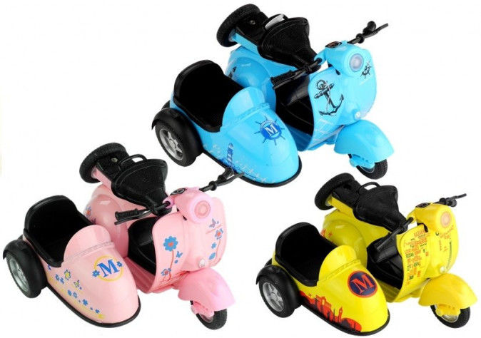 Modele Motorek 3 Kolory Jeździ Świeci Gra 1:14
