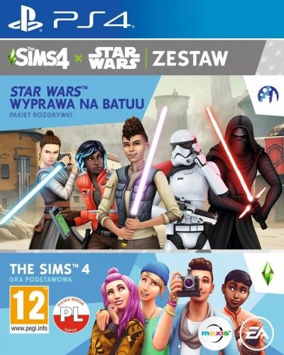 The Sims 4 + The Sims: Wyprawa na Batuu PS4