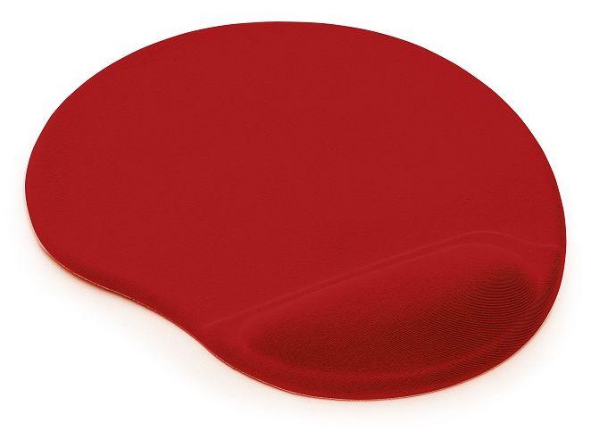 Podkładka pod mysz i nadgarstek TEA - kolor czerwony