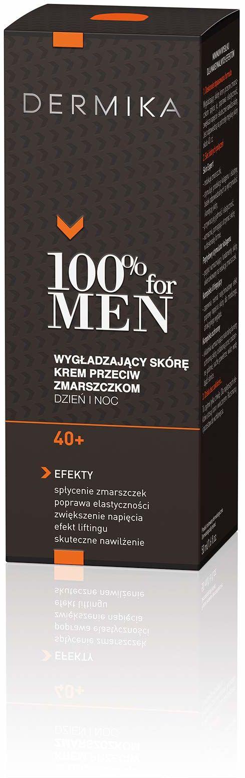 DERMIKA 100% FOR MEN Krem wygładzający 40+ 50ml