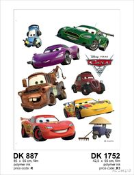 Naklejka ścienna DK 887 Disney Cars