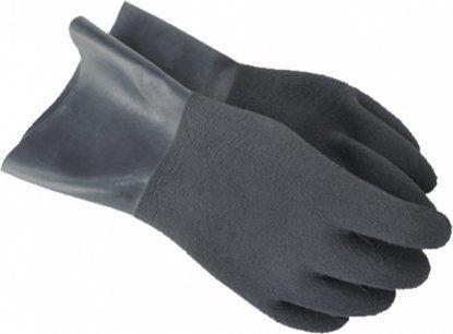 Suche szare rękawice SANTI bez manszet