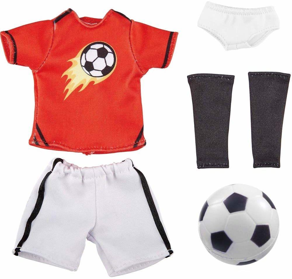 Käthe Kruse 0126865 Michael strój piłkarski, czerwony