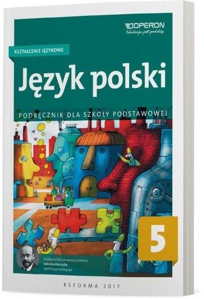 Język polski podręcznik kształcenie językowe dla klasy 5 szkoły podstawowej - Hanna Szaniawska